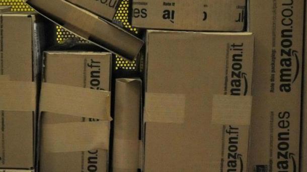 Amazon-Paketzustellung
