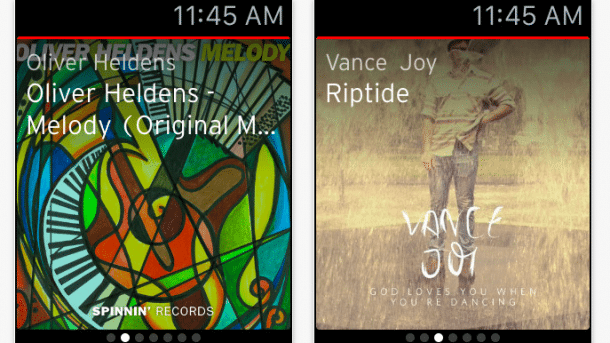 Musik-Dienst Soundcloud mit Apple-Watch-App