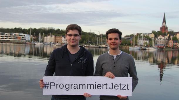 Jugend programmiert: Crowdfunding für ein Lernpaket