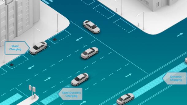 Daimler und Qualcomm wollen Autos drahtlos vernetzen und aufladen