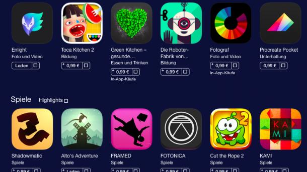 99-Cent-Aktion im App Store