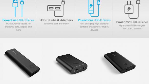 Anker stellt USB-C-Zubehör vor – auch Ladegeräte
