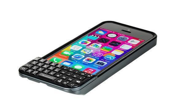 Einigung mit BlackBerry: iPhone-Hardware-Tastatur Typo wird eingestellt
