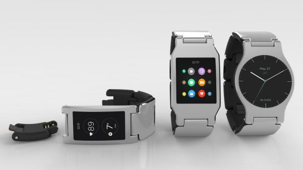 Blocks: Modulare Smartwatch mit Snapdragon-Prozessor