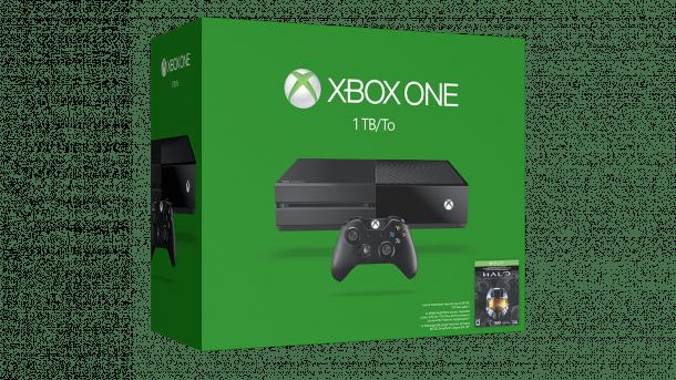 Neues Xbox-One-Bundle mit 1 TB Speicher