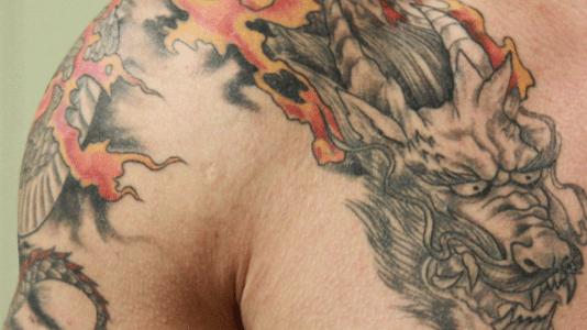 Tattoo-Erkennung, um Straftaten aufzuklären