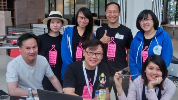 Wearable-Hackathon: Sachen machen mit Sensoren