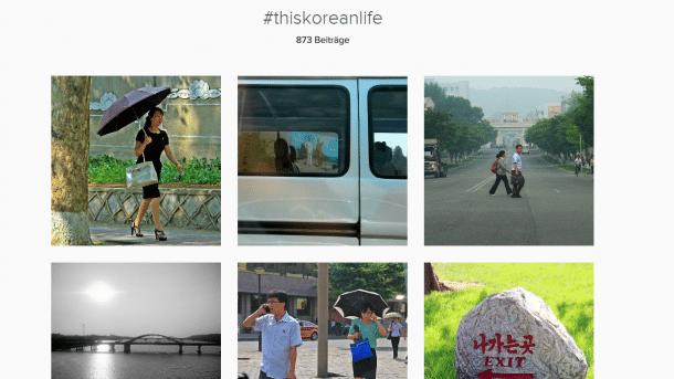 Instagram Bilder aus Nordkorea