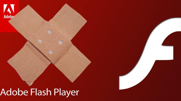 Pflaster auf Adobe Flash Player