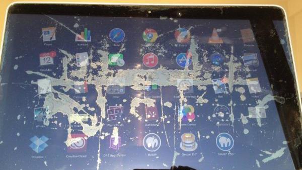 MacBook Display-Flecken