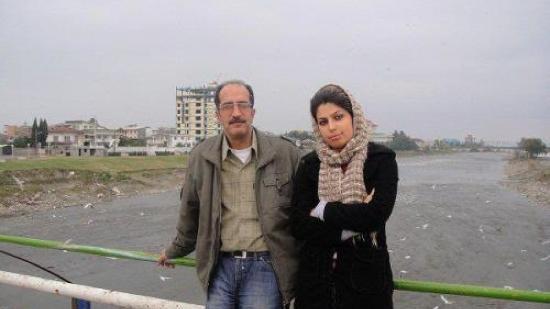 Reza Pourshajari und Tochter Mitra Pourshajari
