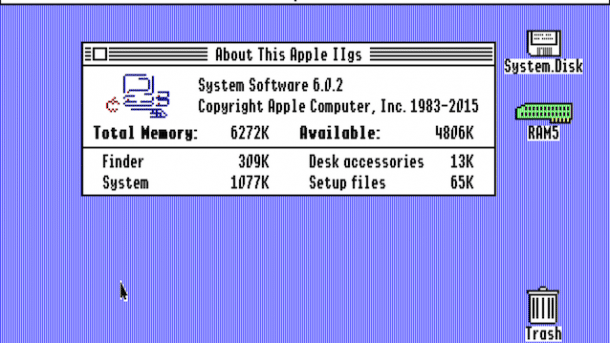 About Apple IIgs