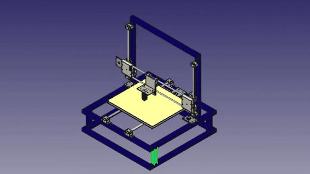 E-Waste 3D Printer Drucker