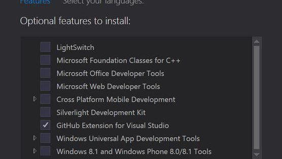 GitHub Extension for Visual Studio 2015 nun Open Source