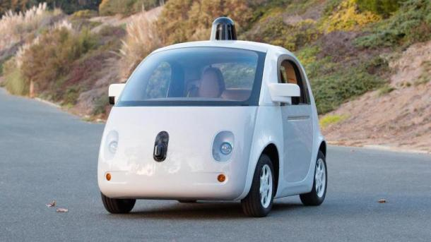 Google-Fahrzeug