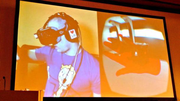 GDC Europe 2015: VR-Brille