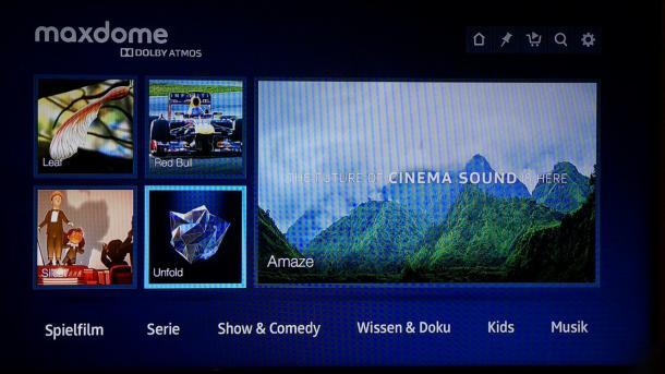 Maxdome: Dolby-Atmos-Demo