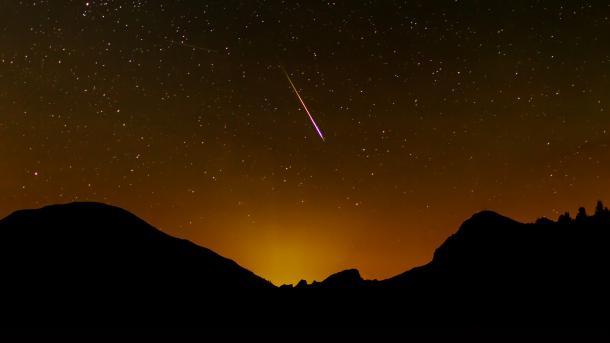 Perseiden: Auf Sternschnuppenjagd im Mangfallgebirge