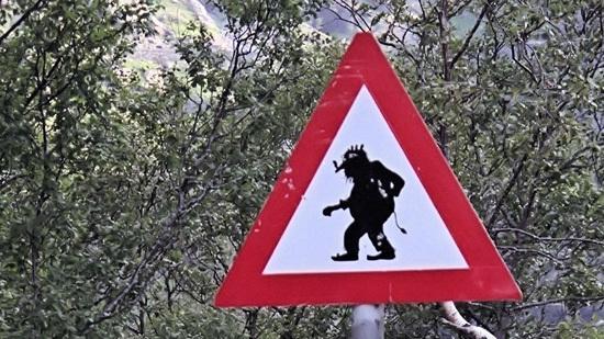 Troll-Schild