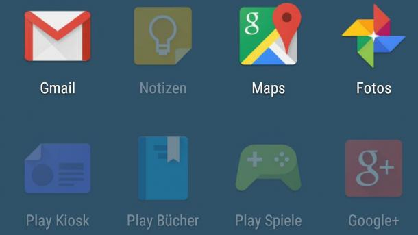Android Standard-Apps