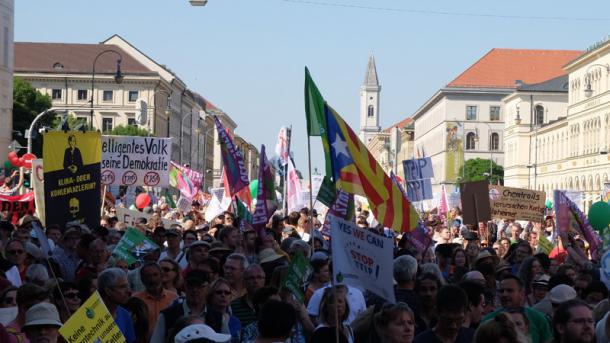 Großdemo München