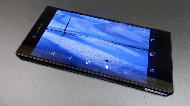 Sony Xperia Z5 Premium mit 4K-Display