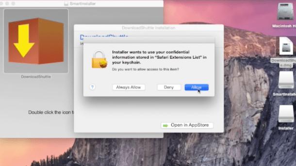 Adware-Installer erschleicht Zugriff auf den Mac-Schlüsselbund