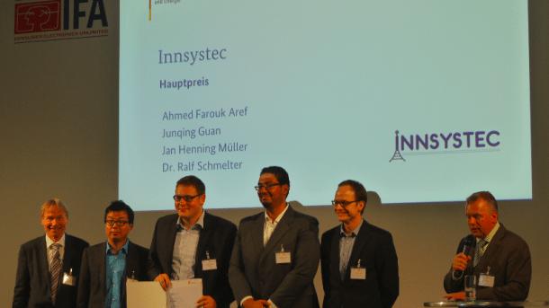 """Innsystec, Start-Up Sieger """"IKT Innovativ"""""""