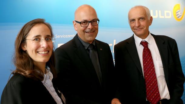 Marit Hansen, Torsten Albig, Thilo Weichert
