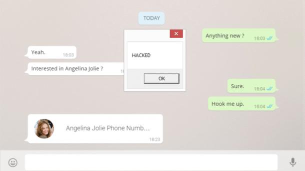 Screenshot Whatsapp Web