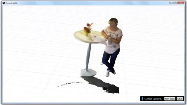 3D-Scan-Software ReconstructMe