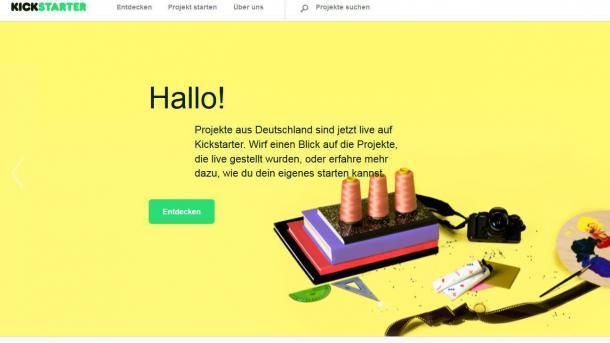 """Kickstarter wird """"gemeinnütziges Unternehmen"""""""