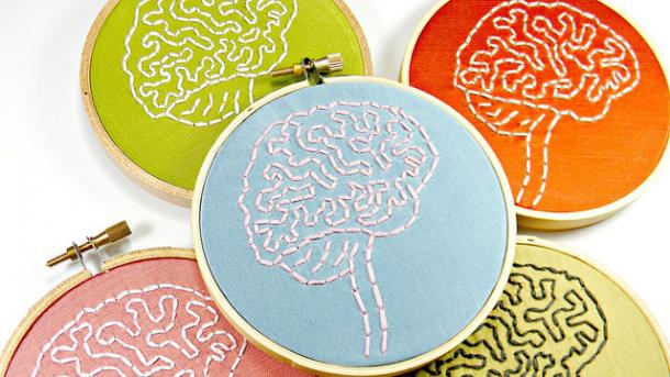 Gehirn Symbol