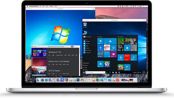 Parallels Desktop 11 für Mac