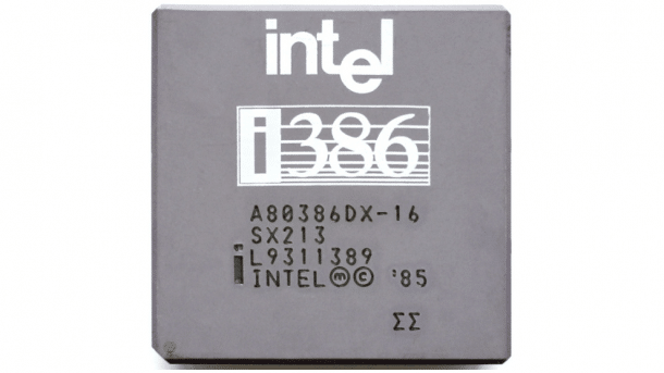 30 Jahre Intel 386