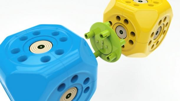 Robo Wunderkind: Smarte Würfel zum Zusammenstecken