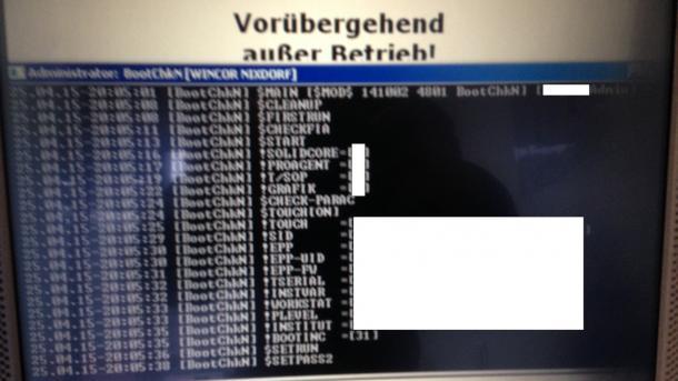 Kommandozeilen-Zugriff: Sicherheitslücke in Geldautomaten der Sparkasse