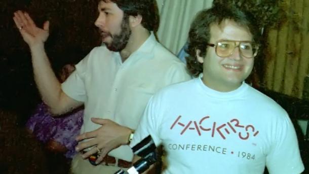 Steve Wozniak (links) und Andy Hertzfeld