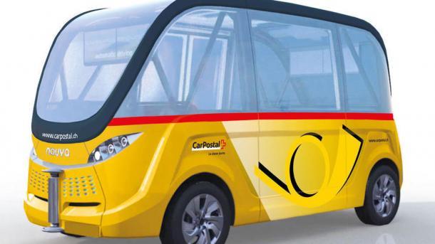 Autonome Busse in der Schweiz geplant