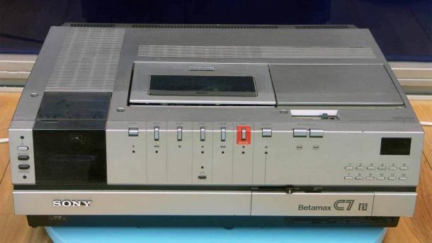 Sony Betamax-Recorder