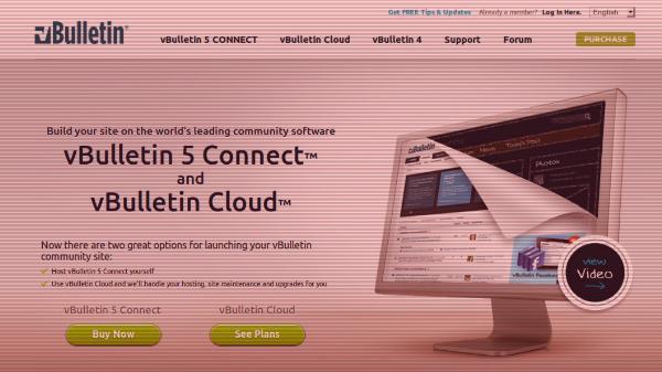 vBulletin Website