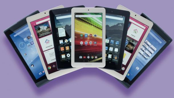 Günstige Tablets: Das Display macht den Unterschied