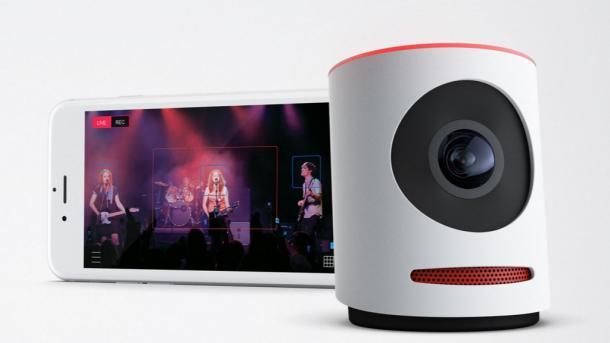 Movi - Livestreaming-Kamera mit Multicam-Funktionen