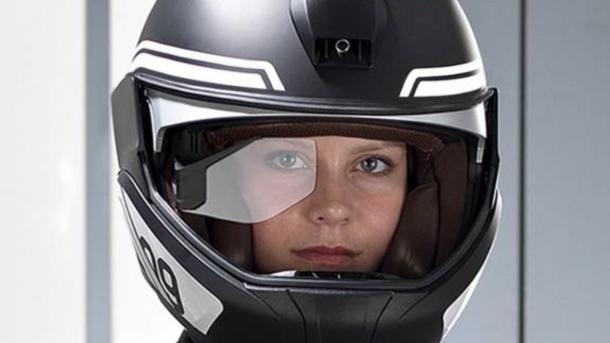 BMW Konzepthelm mit Head-Up-Display