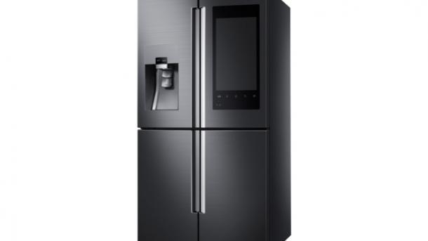 Mini Kühlschrank Funktionsweise : Ces samsung macht kühlschrank zum digitalen schwarzen brett