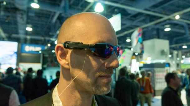 CES 2016: Garmin bringt Datenbrille für Radfahrer