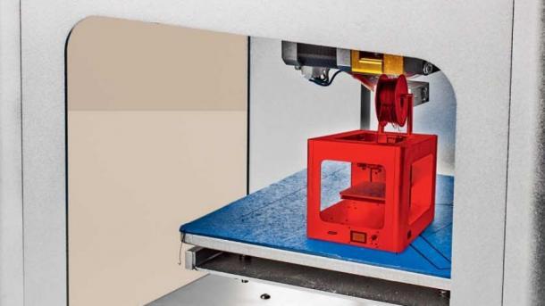 3D-Drucker: Kleiner, besser, billiger