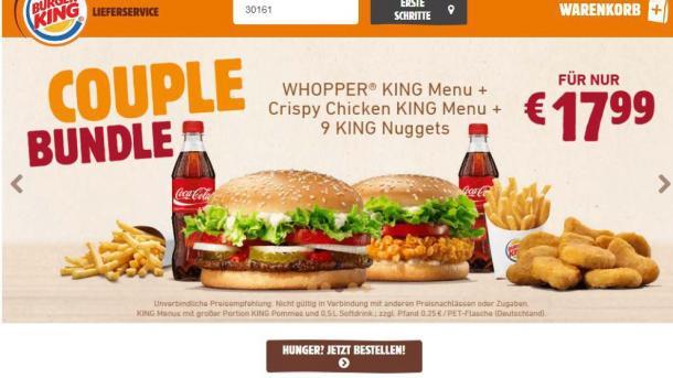 burger king plant deutschlandweiten online bestelldienst heise online. Black Bedroom Furniture Sets. Home Design Ideas