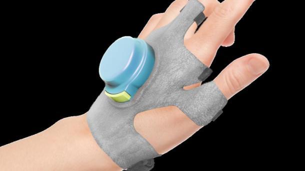 Kreisel-Handschuh