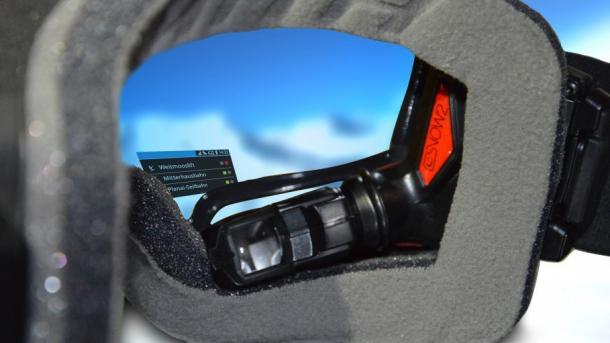 Wintersport: Helme und Brillen sollen vernetzt werden